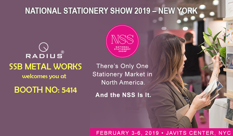 NATIONAL STATIONERY SHOW 2019 – NEW YORK