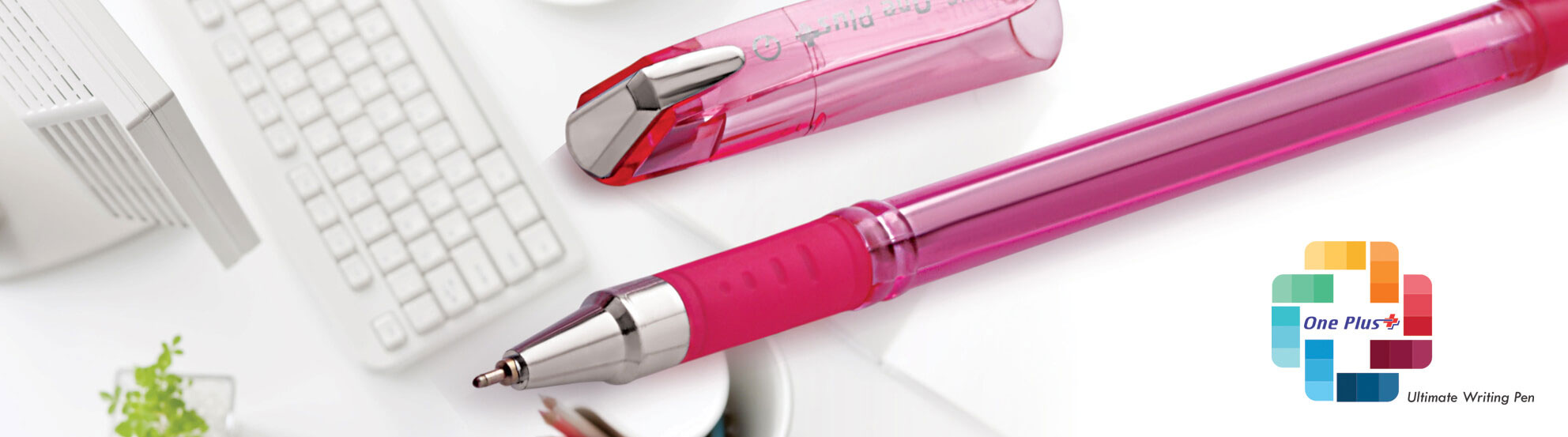 one plus plastic ball pen